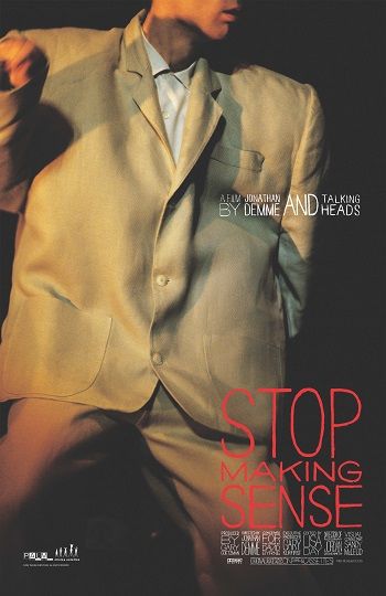 Stop Making Sense - Concert film about the Talking Heads