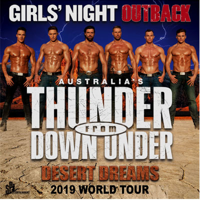 Tickets Thunder From Down Under Ladies Night Out Presented By